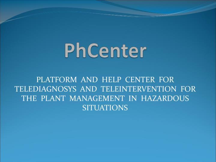PhCenter
