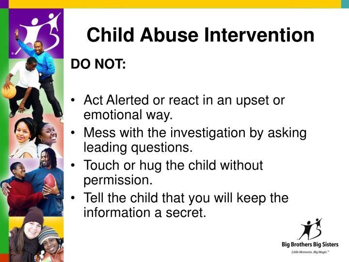 Child Abuse Intervention