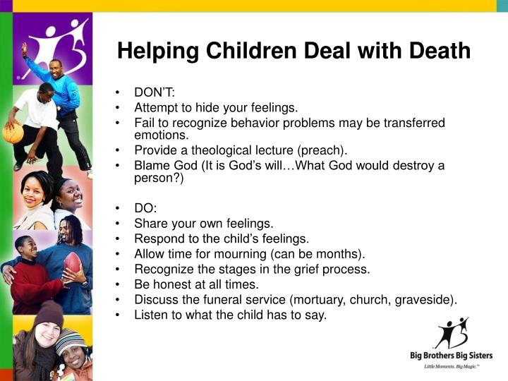 Helping Children Deal with Death