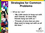 strategies for common problems5