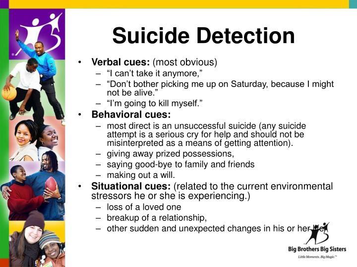 Suicide Detection