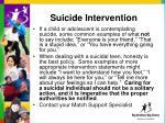 suicide intervention