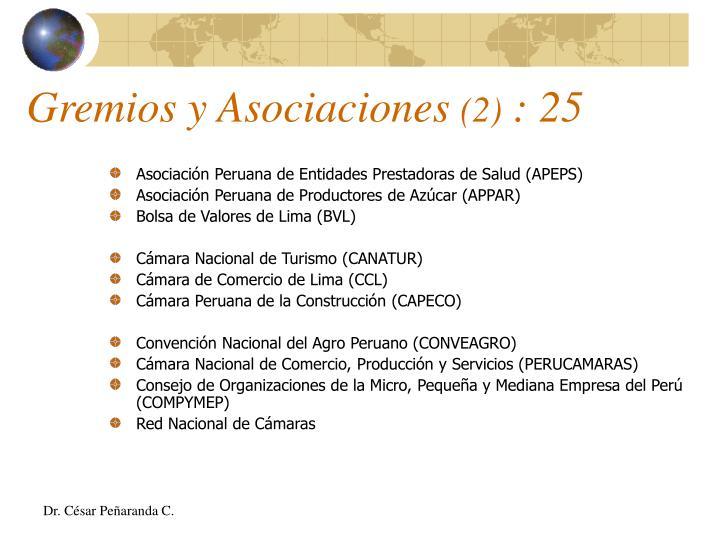 Asociación Peruana de Entidades Prestadoras de Salud (APEPS)