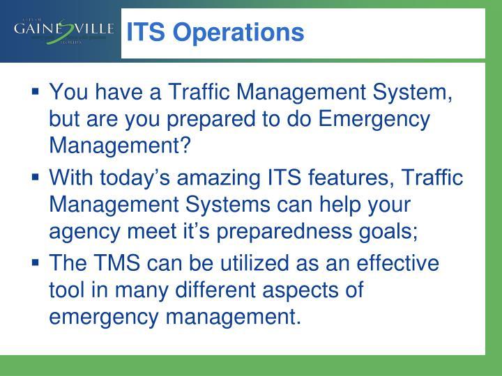 ITS Operations