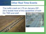 other real time events