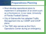 preparedness planning1