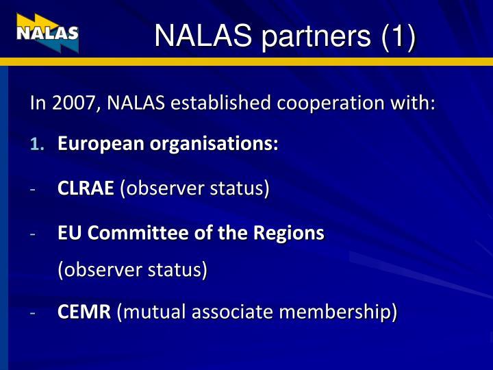 NALAS partners (1)