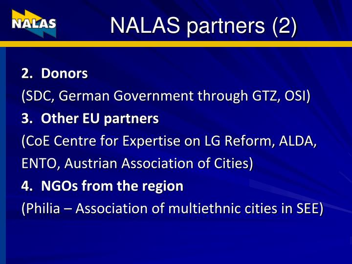 NALAS partners (2)