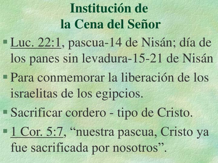 Institución de