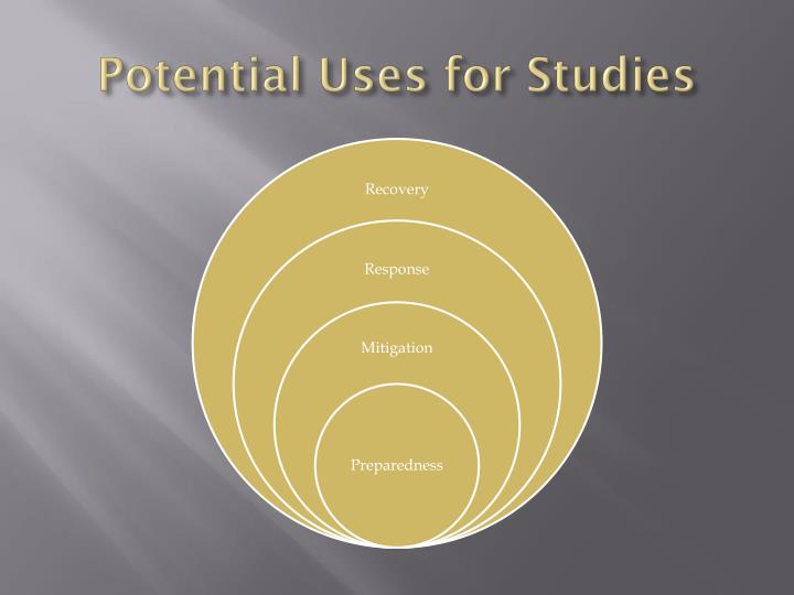 Potential Uses for Studies