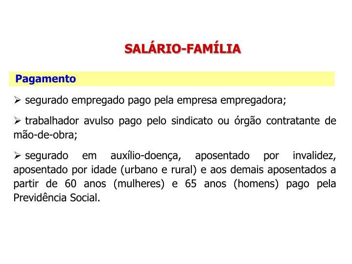 SALÁRIO-FAMÍLIA