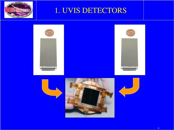 1. UVIS DETECTORS
