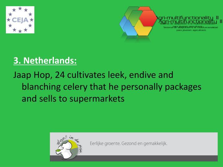 3. Netherlands: