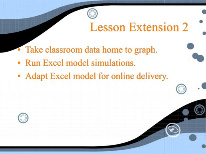 Lesson Extension 2