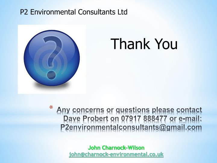 P2 Environmental Consultants Ltd