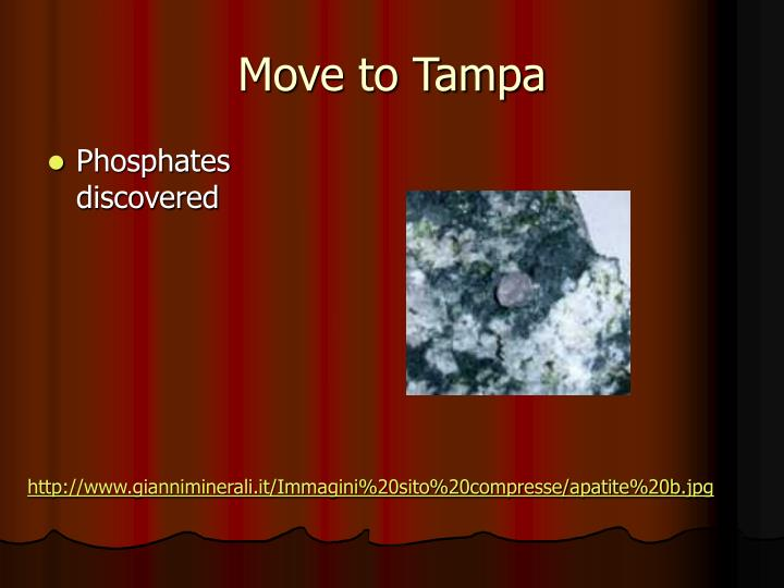 Move to Tampa