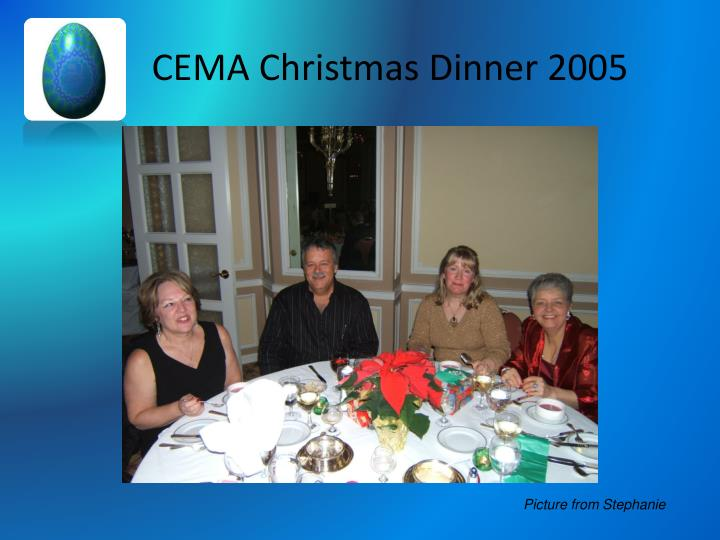 CEMA Christmas Dinner 2005