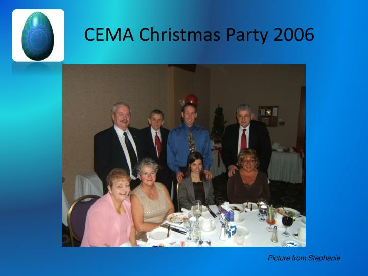 CEMA Christmas Party 2006