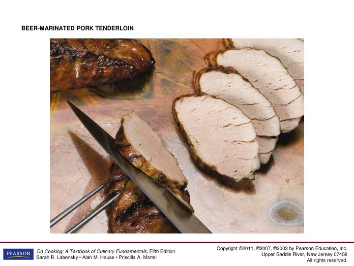 BEER-MARINATED PORK TENDERLOIN