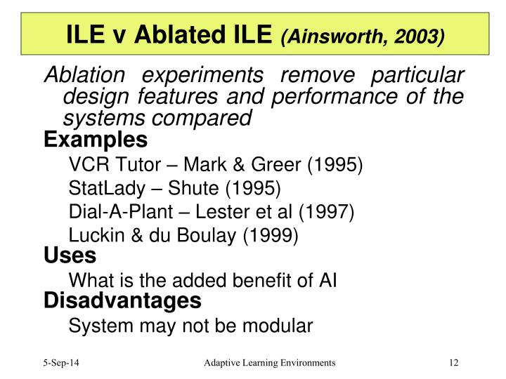 ILE v Ablated ILE