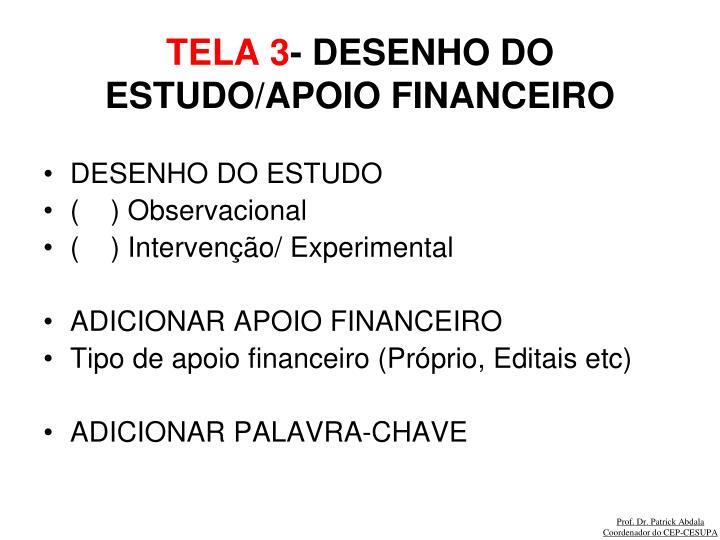 TELA 3