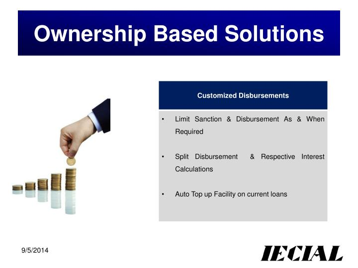 Ownership Based Solutions