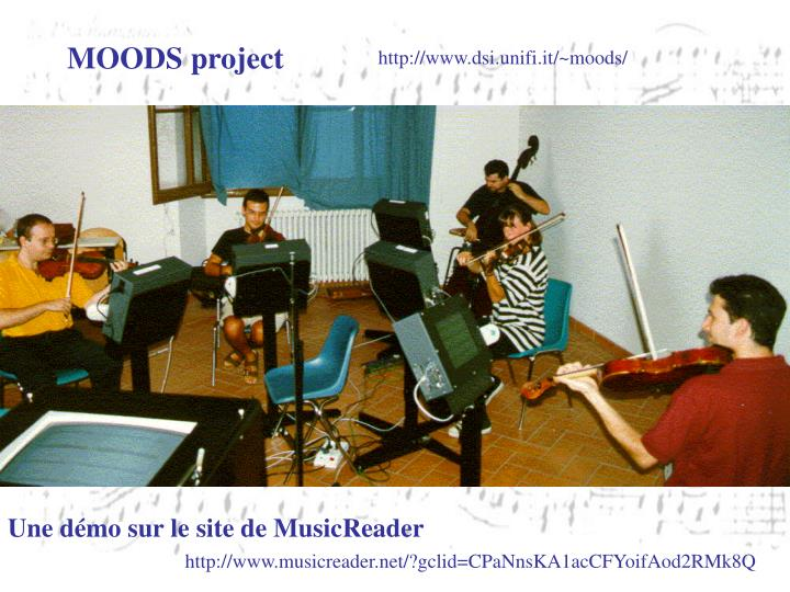 MOODS project