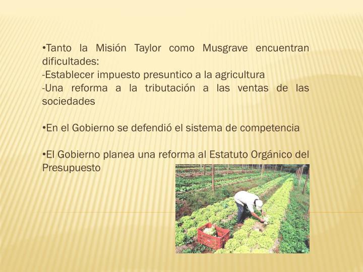 Tanto la Misión Taylor como Musgrave encuentran dificultades: