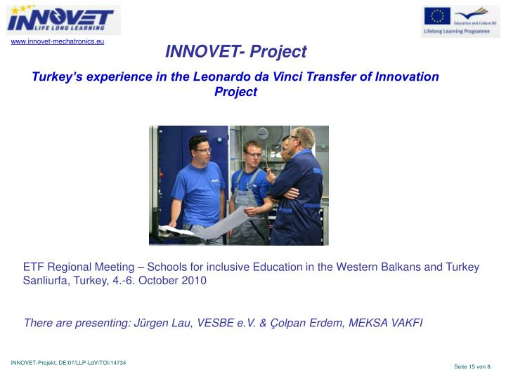 INNOVET- Project