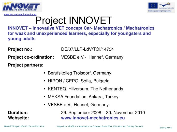 Project INNOVET