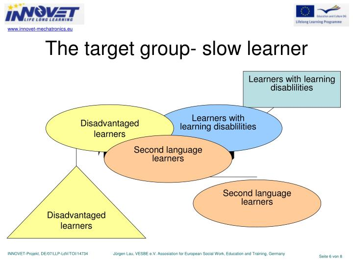 Learners with learning disablilities