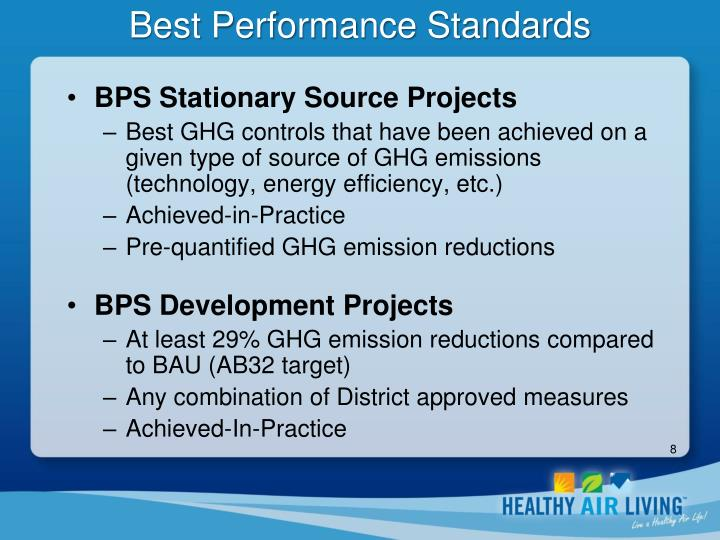 Best Performance Standards