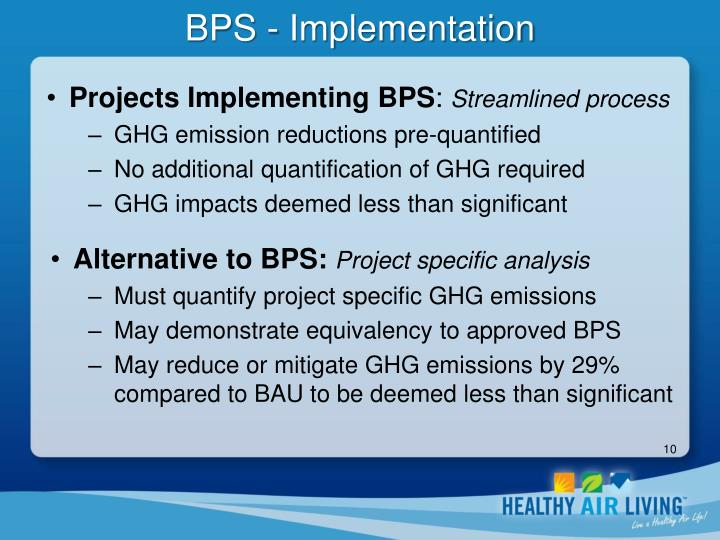 BPS - Implementation
