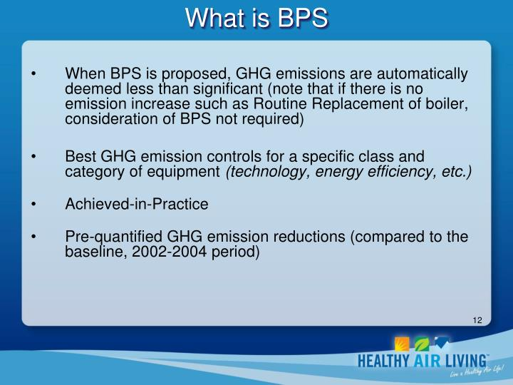 What is BPS