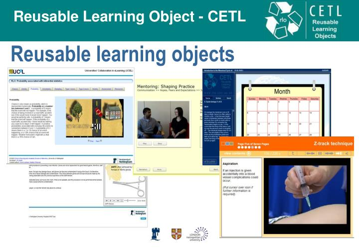 Reusable learning objects