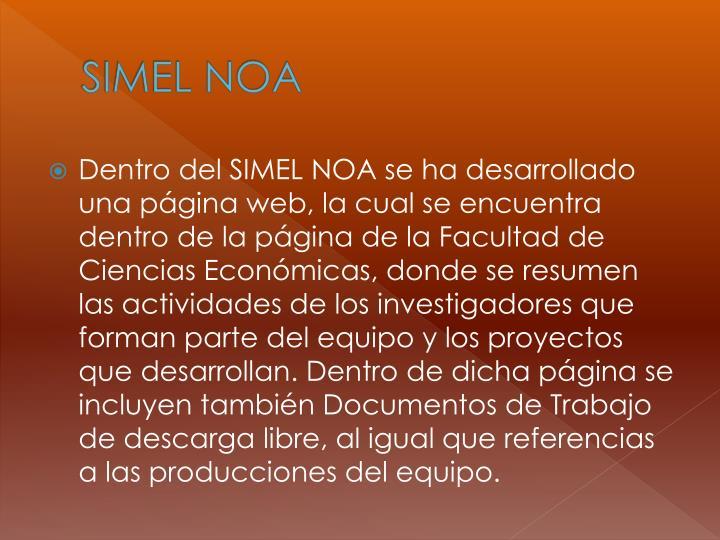 SIMEL NOA