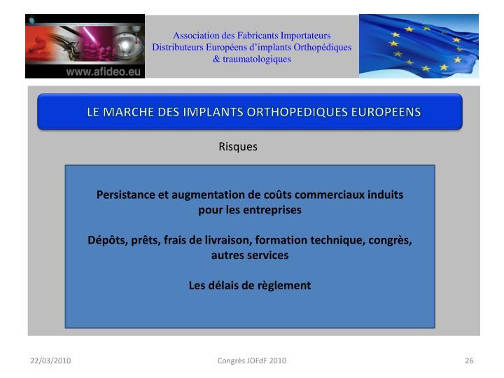 Association des Fabricants Importateurs Distributeurs Européens d'implants Orthopédiques & traumatologiques