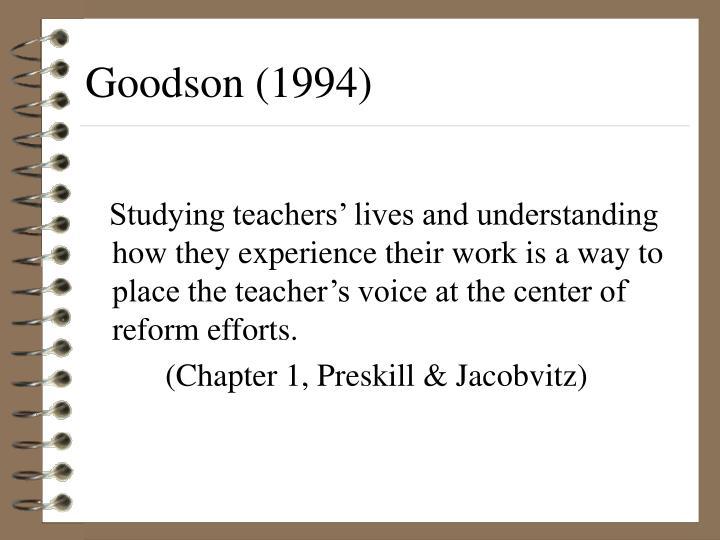 Goodson (1994)