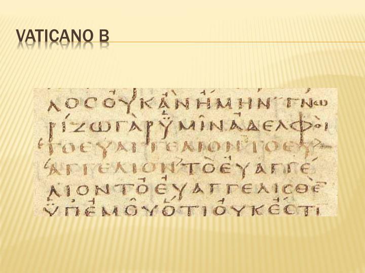 Vaticano B
