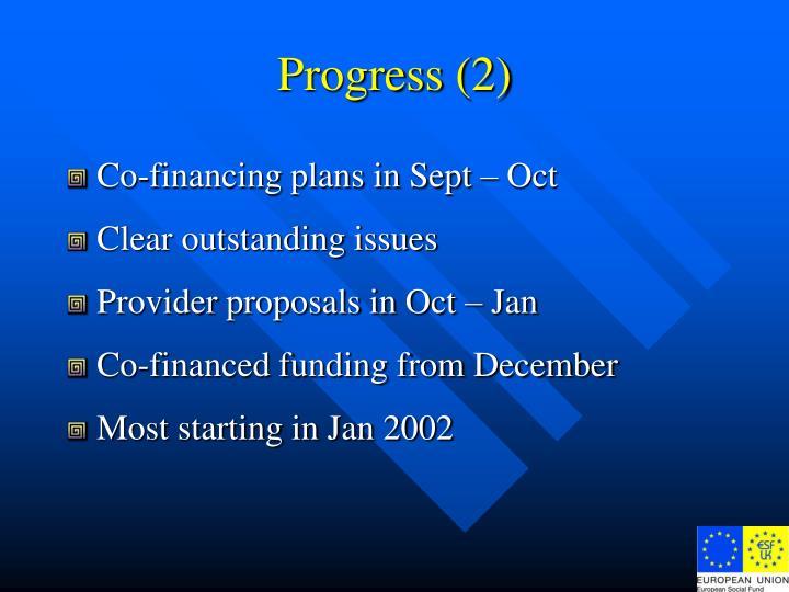 Progress (2)