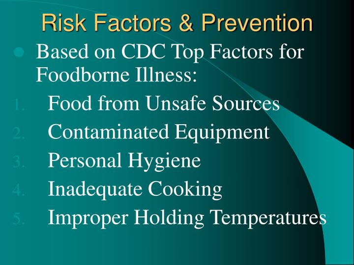 Risk Factors & Prevention