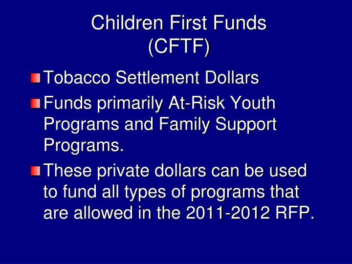 Children First Funds