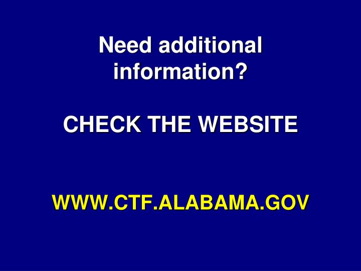 Need additional information?