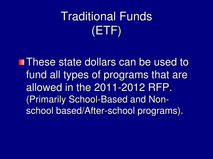 Traditional Funds