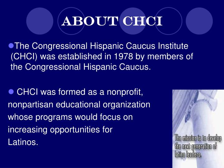 About chci