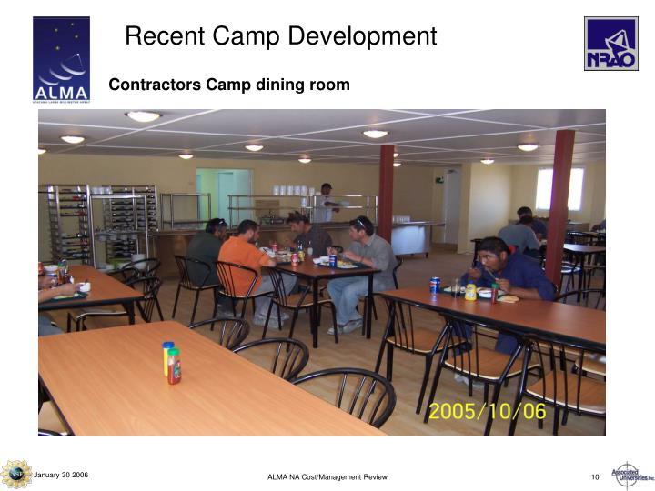 Recent Camp Development