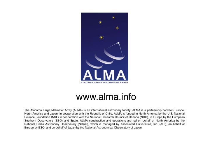 www.alma.info