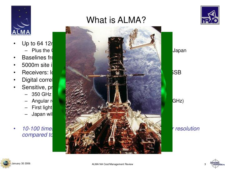 What is ALMA?