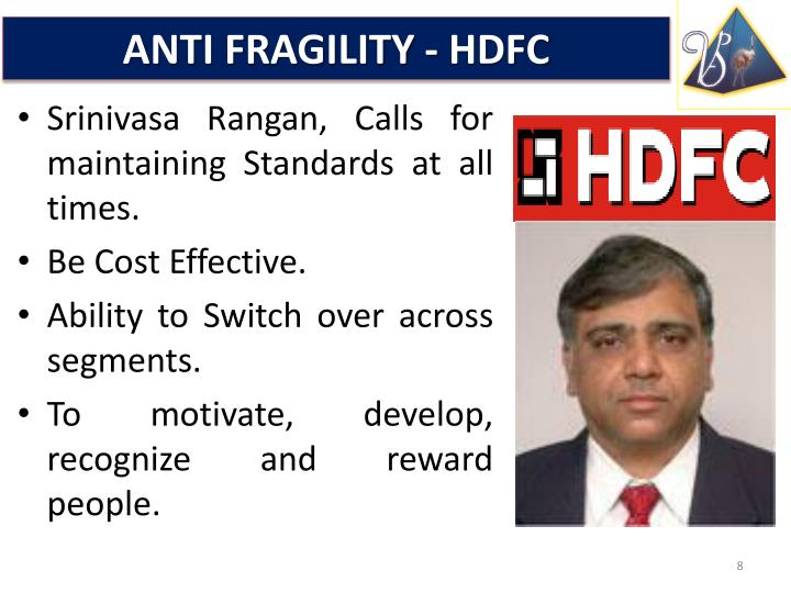 ANTI FRAGILITY - HDFC