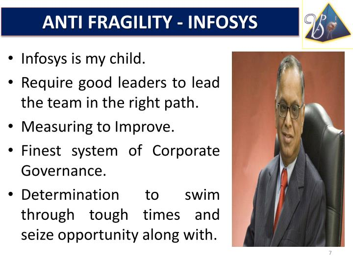 ANTI FRAGILITY - INFOSYS